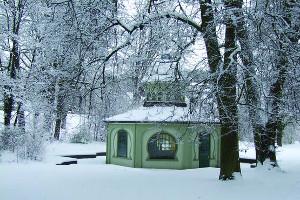 Weihnachtsreise Bad Wildungen, Kurpark